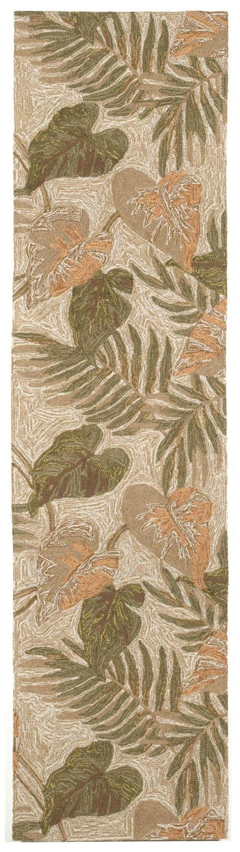 trans ocean rvl ravella neutral tropical leaf area rug trans ocean ravella tropical leaf neutral 2066 12 area rug