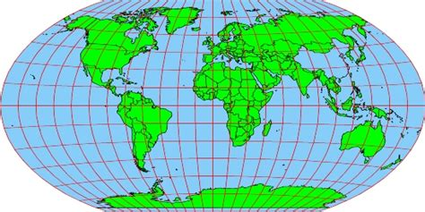 map projection definition images