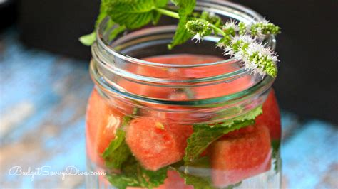 Flat Belly Detox Water With Watermelon by Flat Belly Detox Water Recipe Budget Savvy