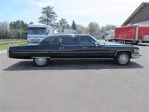 Cadillac Fleetwood 1975 1975 Cadillac Fleetwood For Sale Ham Lake Minnesota