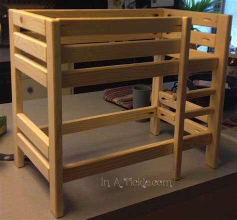 Baby Doll Bunk Bed Plans Baby Doll Bunk Bed In A Tickle