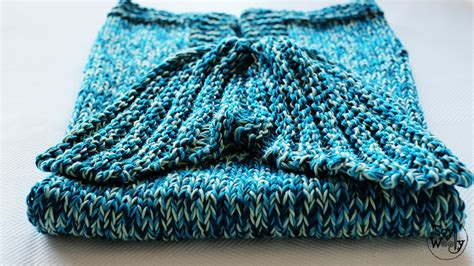 cola sirena tejido para bebe c 243 mo tejer una manta con cola de sirena en dos agujas
