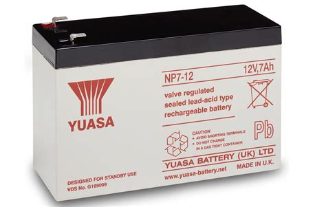 Baterai Ups 12v 7ah np7 12 yuasa 12v 7ah lead acid battery battery 163 11 23 ex