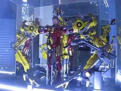 iron man hot toys custom display boxes lighting youtube