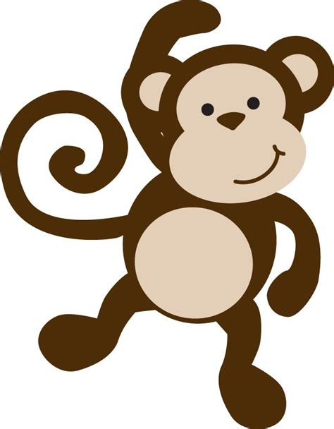 monkey template monkey template clipart best