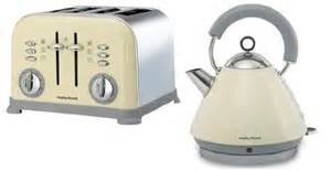 Morphy Richards Kettle And Toaster Sets Morphy Richards Accents Cream Kettle 1 5 Litre 44377 Amp 4