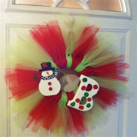 tulle craft projects tulle wreath decor crafts and diy