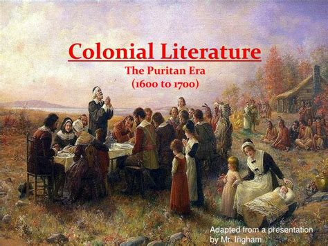 the era books ppt colonial literature powerpoint presentation id 2320096