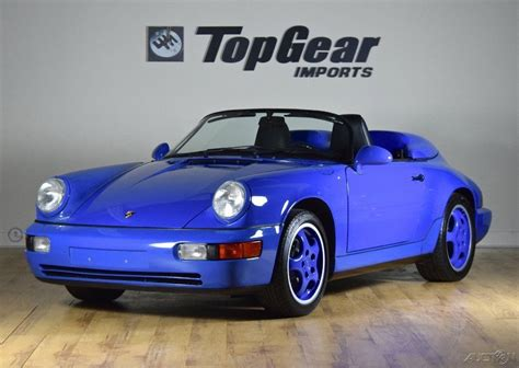 porsche maritime blue 1994 porsche 911 speedster rare maritime blue for sale