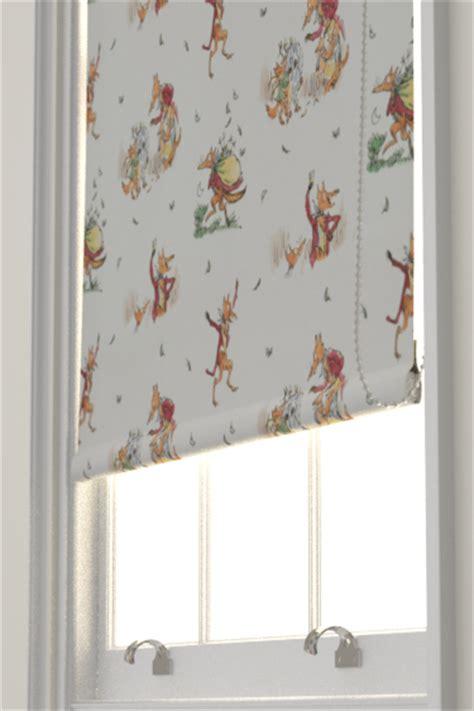 chicken pattern roller blind fantastic mr fox by roald dahl wallpaper direct