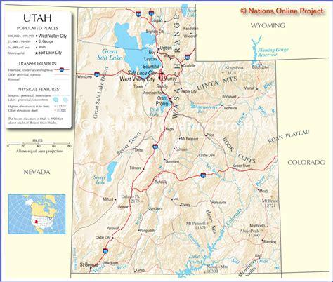 map of utah detailed road map of the state of utah map of utah america maps map pictures