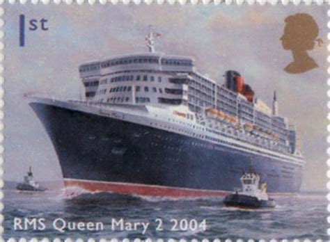alan walker queen mary ocean liners 2004 collect gb sts