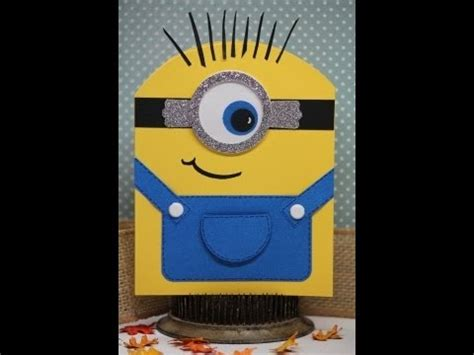 how to make a minion card tutorial you re one in a minion card