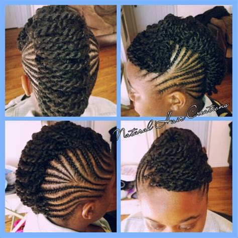 what types of permenant locks and twists kinky twists cornrows and updo on pinterest