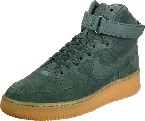 nike air force  high  shoes green