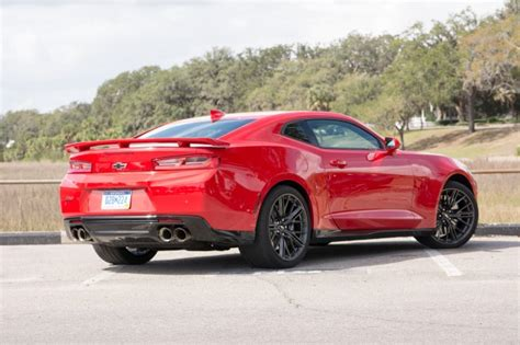 2017 Chevrolet Camaro ZL1 first drive review: too fast to
