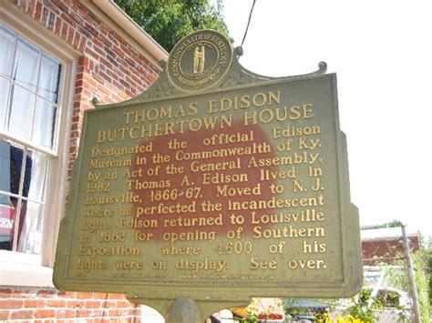 thomas edison house louisville thomas edison butchertown house louisville ky science museums on waymarking com