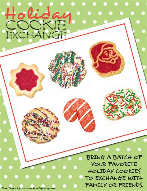Bake Sale Flyers Free Flyer Designs Cookie Flyer Template