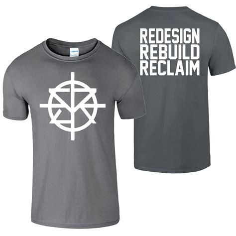 Wwf Panda Chair Seth Rollins Redesign Rebuild Reclaim New Kids T Shirt Top