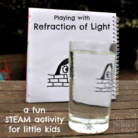 light activities for kids playing with refraction of light a fun steam activity for