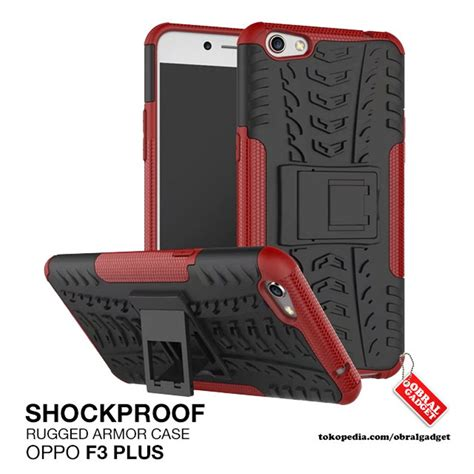 Softcase Warna Oppo F3 Murah jual armor oppo f3 plus r9s plus rugged shockproof