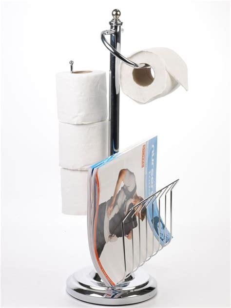 free standing 3 roll bathroom toilet paper tissue storage
