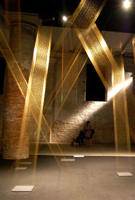 String Installation - lygia pape tteia i c at venice biennale 09