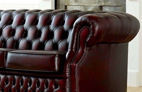 richmond leather sofa richmond the chesterfield company