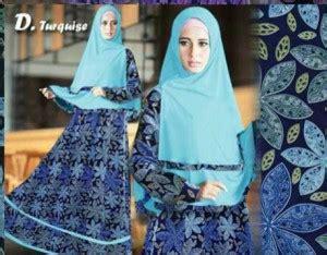 Gamis Monalisa Motif Tartan Biru gamis modern dirra syari a163 baju muslim remaja butik