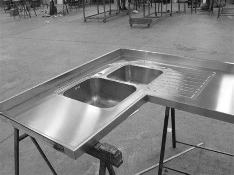 lavello ad angolo misure lavello su misura ad angolo con vasche saldate photo