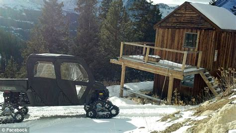 Snowmobile Cabin by Colorado Cabin Confiscated In