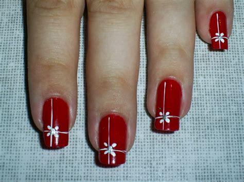 imagenes de uñas rojas con plateado menina bonita passo 224 passo unha decorada com vermelho e