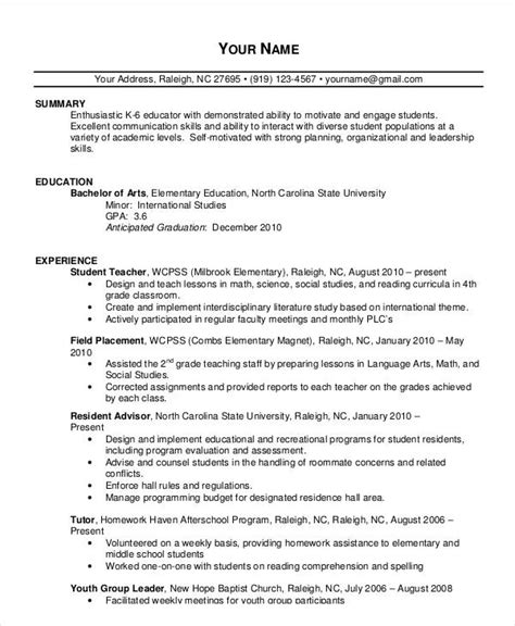 resume format for experienced teachers doc 20 simple resume templates pdf doc free premium templates