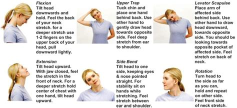 Neck Exercises At Your Desk by Registered Therapy Joelson Rmt Hamilton On