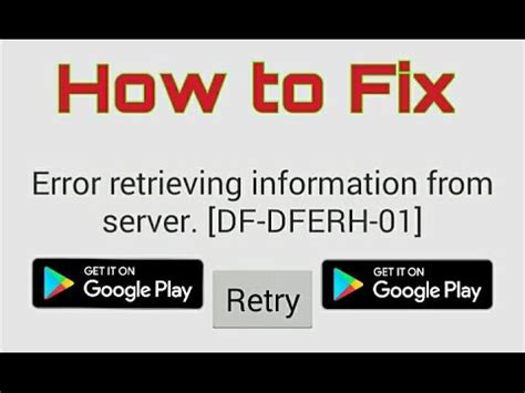 Play Store Error Retrieving Information From Server How To Fix Play Store Error Retrieving Information
