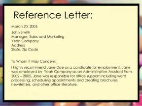 sle reference letter for recommendation re