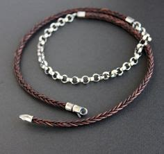Cc Braided Chain Leather Necklace It Or It by S Leather Jewelry Designs On S Leather