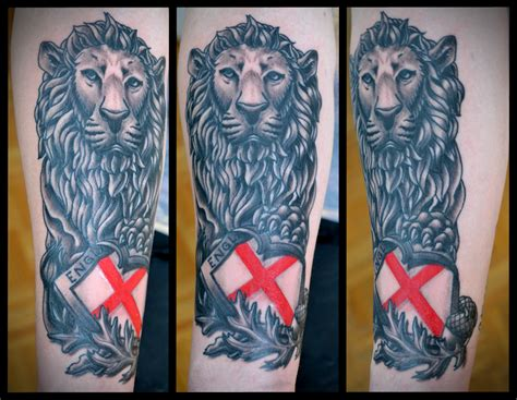 english lion tattoo designs sola fid 233 society
