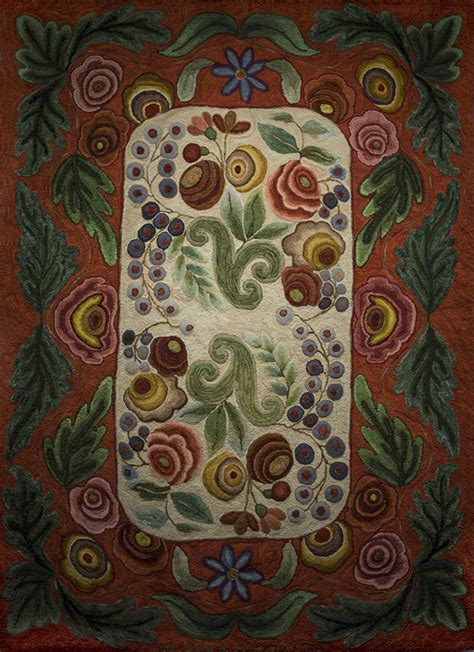 fraser rug hooking bradley primitive designed by harry fraser co hooked by suzanne dirmaier app 5x 8 2 hooked