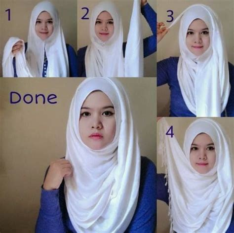 6 tutorial style hijab pashmina simple jilbab tutorial hijab cara memakai hijab pashmina simple