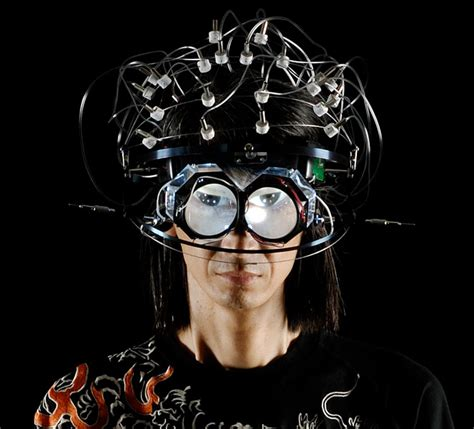 Brains Not Is Wired The Entertainment by This Is Your Brain On Wax Masaki Batoh Turns Brain Waves