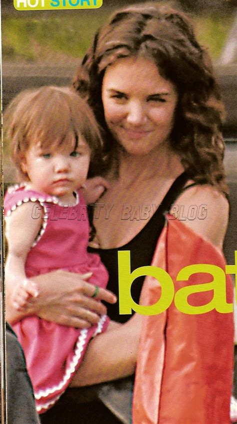 With Suri On The Set Of Mad Money by Suri Cruise On Set With Babies