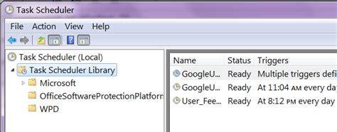 windows 7 task scheduler doesn t list my custom task s super user is itaskscheduler supported in windows 7