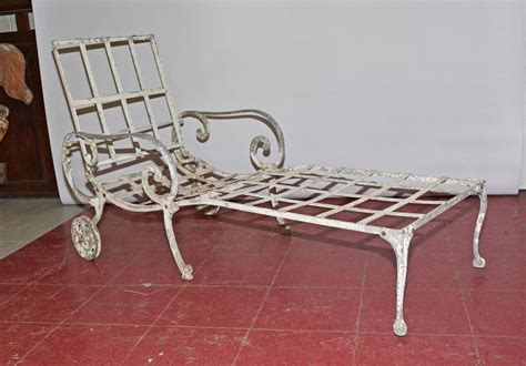 outdoor chaises vintage outdoor chaise longue for sale at 1stdibs