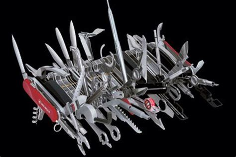 large swiss army knife swiss army knife in the world