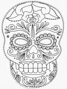 sugar skull template tattoos book 2510 free printable stencils skulls