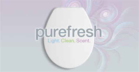 lighted toilet seat cover overview purefresh scented and lighted toilet seat kohler