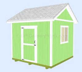 woodwork 8 x 10 gable shed plans free plans pdf