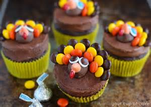Thanksgiving Cupcake Decorations