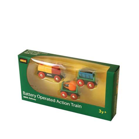 brio battery brio battery powered action train toys zavvi com